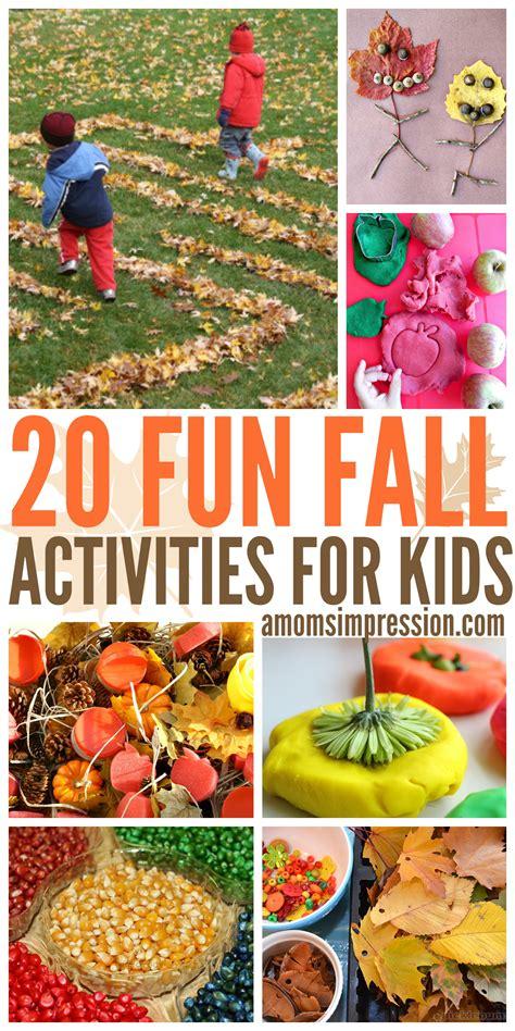fun fall activities  kids  diy fall ideas
