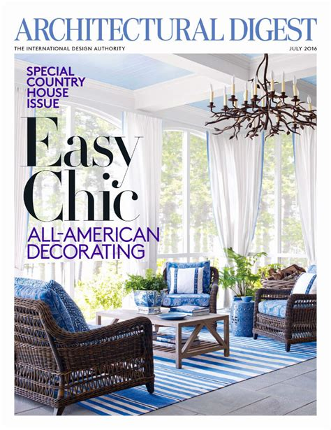top interior design magazines   world