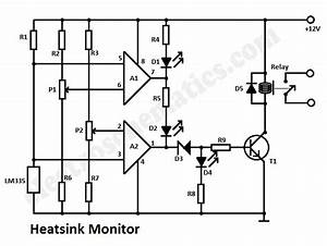 Heatsink Temperature Monitor Circuit