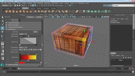 Modeling With Soft Select And Reflection