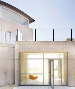 Porte Entree Maison : maison beton architecture moderne accueil design et mobilier ~ Premium-room.com Idées de Décoration