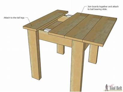 Table Chair Simple Kid Chairs Sliding Tool