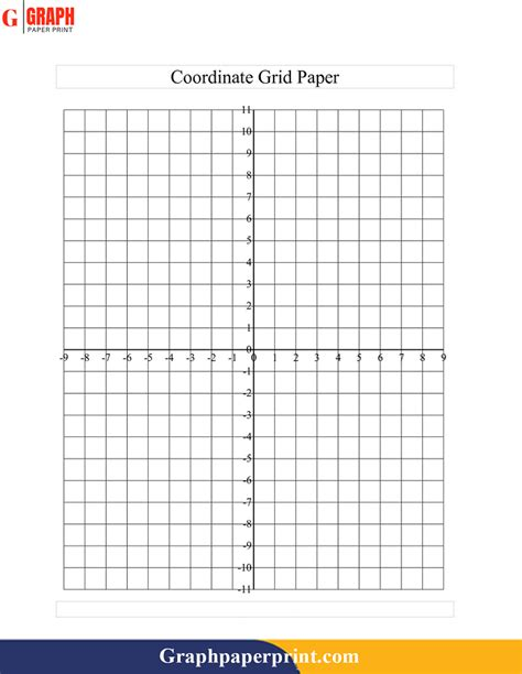 blank printable graph paper  numbers graph