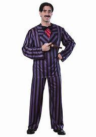 Adult Gomez Costume   Adult   Mens   Black   On…