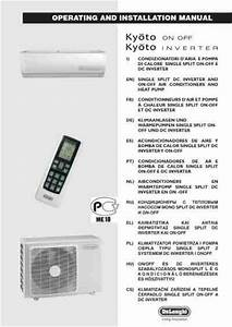 Delonghi Plk120 Air Conditioner Download Manual For Free