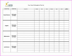 college course planner template best free home With semester plan template