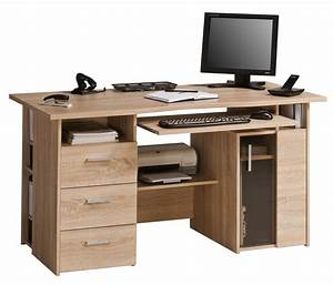 Laptop Mit Office Paket : maja capital oak computer desk ~ Lizthompson.info Haus und Dekorationen