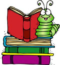 Bookworm Reading Book Clip Art
