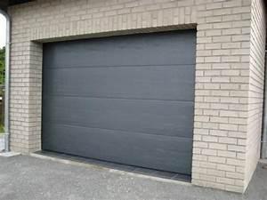 porte de garage sectionnelle tournai mons charleroi With guttomat porte de garage