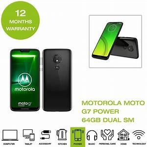 Brand New Motorola Moto G7 Power  Xt1955