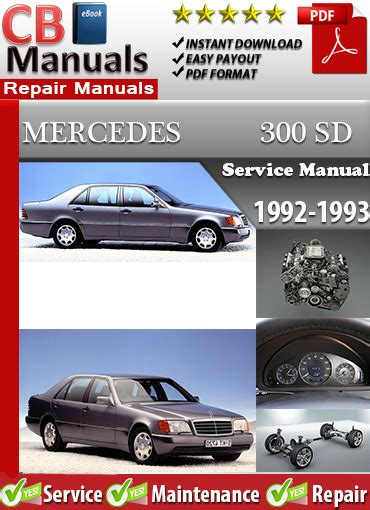 best car repair manuals 1993 mercedes benz 300sd lane departure warning mercedes 300sd 1992 1993 service repair manual ebooks automotive