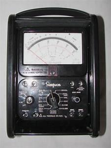 Simpson 260-8rt - Volt - Ohm