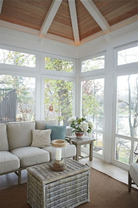 coastal  beach inspired sunroom design ideas digsdigs