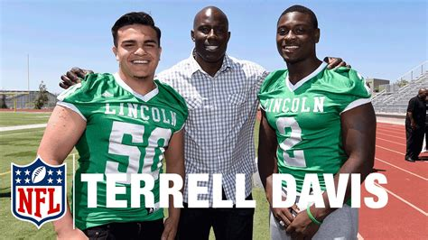 Terrell Davis And Marcus Allen Super Bowl High School