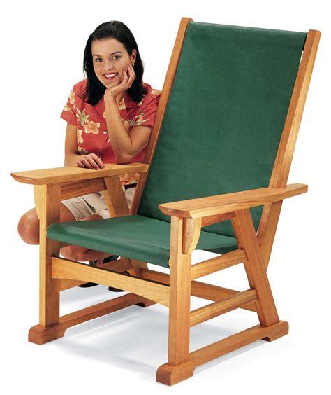 craftsman style outdoor chair popular woodworking magazine