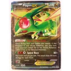 pokemon card flygon ex xy61 brand new p986