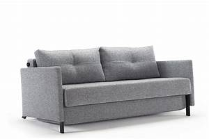 cubed 160 sofa bed with arms from innovation With sofa bed extension