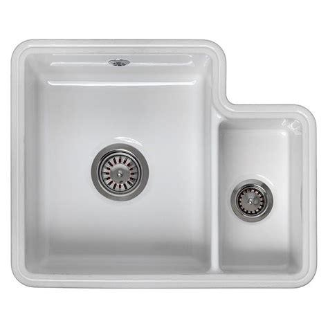 reginox kitchen sinks reginox tuscany 1 5 bowl ceramic sink sinks taps 1820