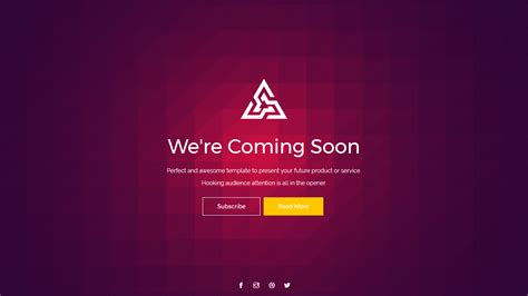 coming soon template trendy versatile coming soon template by medhati themeforest