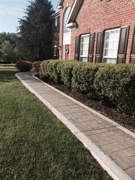 Sidewalk Curb Appeal  Blackwater Concrete