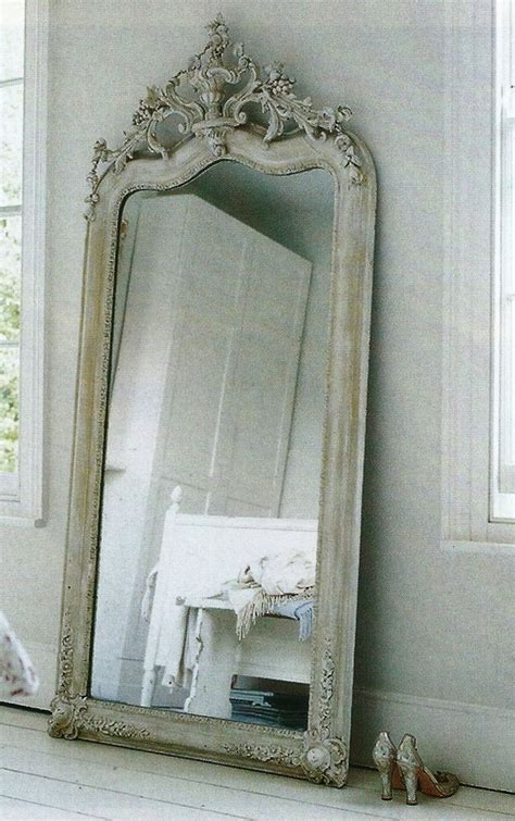 floor mirror vintage beautiful french antique mirror vintage lovelies 4 pinterest