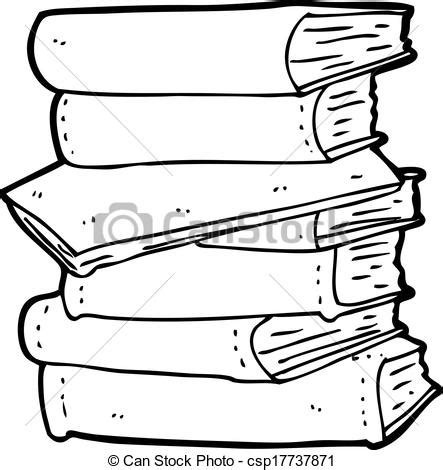 vectors illustration  cartoon pile  books csp