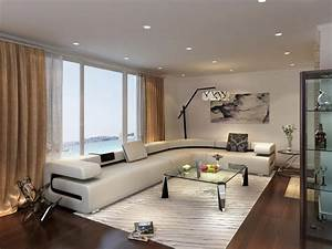 Living room in beige color for Interior decoration for living room in nigeria