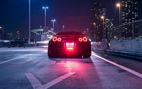 Dm for cheap promotion/ads/shoutout ⬇️ shop now ⬇️ premiumcarbonfiber.com/collections/gtr?aff gtr. Download wallpapers Nissan GT-R, R35, rear view, night, Japan, Tokyo, tuning GT-R, Japanese ...