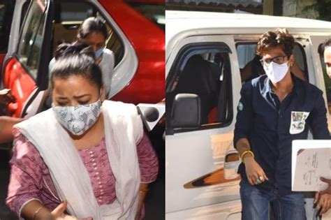 Bharti Singh Arrested by NCB, Examination of Haarsh ...