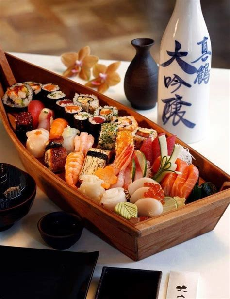Boat Sushi by Discover And Save Creative Ideas