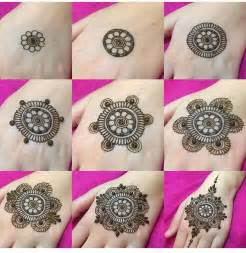 Simple Henna Designs for Hands Step by Step