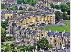 Visit Bath, England and one of its main attractions The