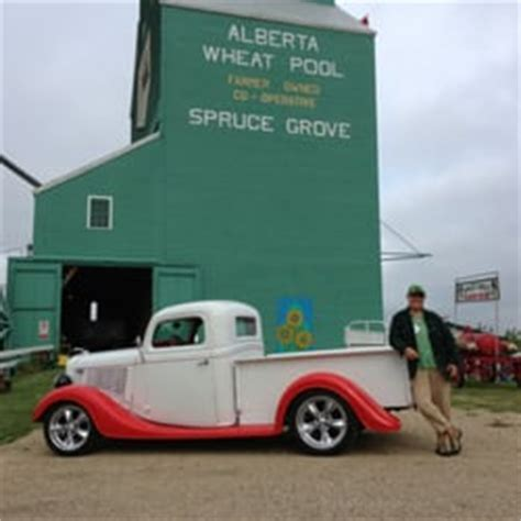 In Swag Ls Canada by Spruce Grove Grain Elevator Museum Museums 120 Railway