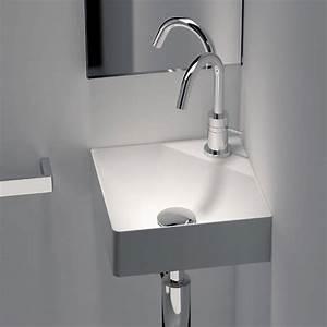Petit Lave Main D Angle Wc : lave main d 39 angle 30x30 cm mati re composite fancy ~ Premium-room.com Idées de Décoration