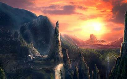 Fantasy Wallpapers Desktop Backgrounds Background Landscape Kings