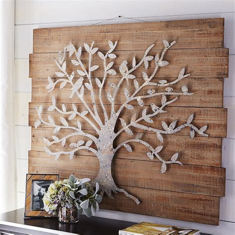 drawing decoration timeless tree wall decor pier 1 imports metal work Wall