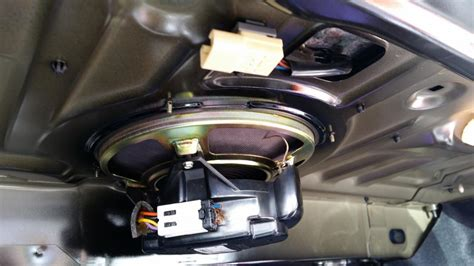 Mazda Trunk Bose Speaker Wiring Forum