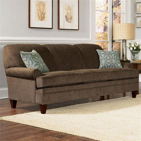 dk brown couch  light gray wall combo