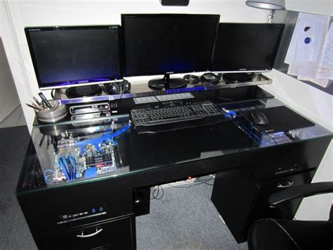 meuble bureau informatique gamer table de lit a roulettes
