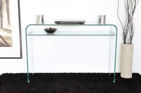 livre cuisine de tous les jours console design en verre transparent 1 étagère otta
