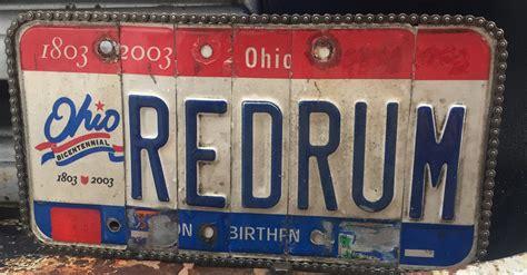 license truck ratrod plate