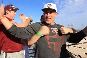 Texas A&M's Johnny Manziel Teams with Dude Perfect for ...