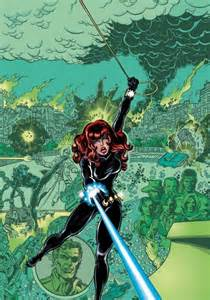 George Perez Marvel Black Widow