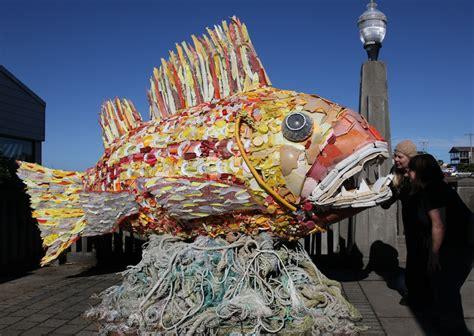 sea change recycling ocean trash  influential art