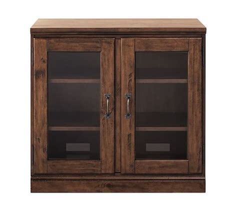 glass door cabinet printer s glass door cabinet pottery barn