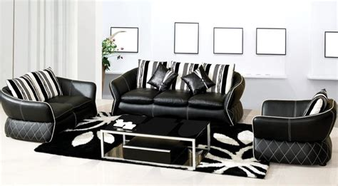 black and white leather sofa set black and white leather sofa set contemporary black and