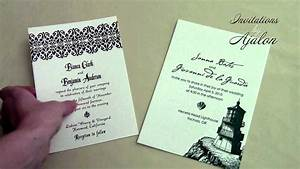 Wording wedding invitations without parents39 names youtube for Wording for wedding invitations without parents names