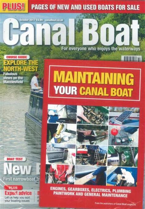 Boating Magazine Subscriptions Uk by Canal Boat Magazine Subscription
