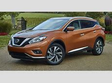 Allnew 2015 Nissan Murano and Ford Edge face off