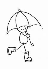 Umbrella Coloring Hop Printable Sock Payong Cliparts Rainy Clipart Cartoon 2007 Geisha Days Colouring Library Cards Getcolorings Under Pop Sketch sketch template